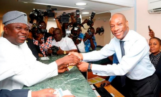 PHOTOS: Ambode pays land use charge at GTB