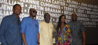 PHOTOS: 2baba, Olu Jacobs… faces at Black Panther Nigerian premiere