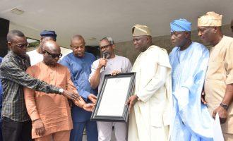 Lagos APC reps endorse Ambode for second term