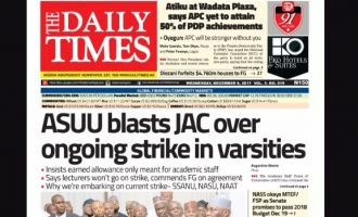 AMCON takes over Daily Times Plc