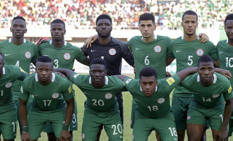 Super Eagles retain 52nd position in FIFA world rankings