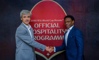 Nigerian firm appointed sales agent of World Cup hospitality programme