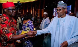 Fayose accuses Buhari of rewarding looters who decamped from PDP