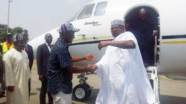 Fayose Visits Benue, Curses Killer Herdsmen And Their Sponsors