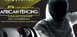 150 fencers to storm Lagos for African Fencing Championships