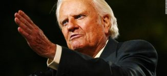 Billy Graham, renowned US evangelist, dies at 99