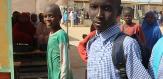 This boy wants to join the army to avenge his father's murder by Boko Haram