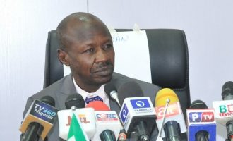 EXTRA: Cancer is caused by corruption, says Magu