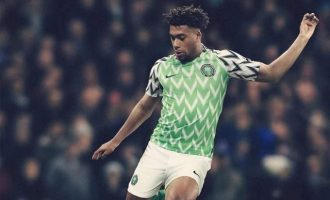 PHOTOS: NFF, Nike unveil Super Eagles' World Cup kits
