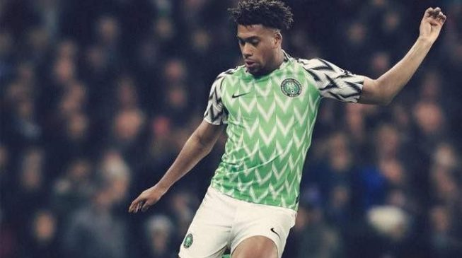 S NFF Nike unveil Super Eagles' World Cup jersey