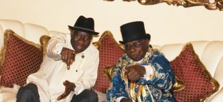 PHOTOS: Jonathan hosts Obasanjo in Otuoke