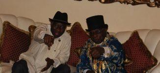 PHOTOS: Jonathan hosts Obasanjo in Otuoke