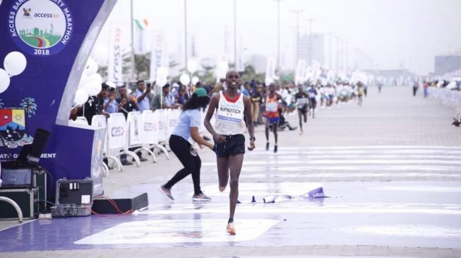 Frenchman Abraham Kiprotich Emerges Victorious At The Lagos City Marathon