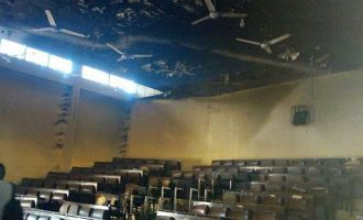 Examination suspended as MAUTECH students riot over 'blasphemy'