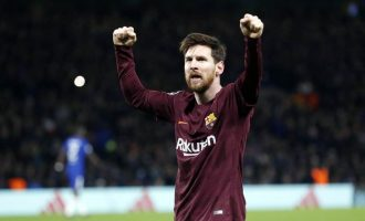 WATCH: Messi finally scores against Chelsea