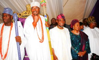 'CLASH OF TITANS': Ooni asked his bodyguard to push me in public, says oluwo