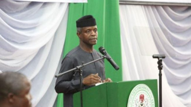 State police is the way to go, says Osinbajo