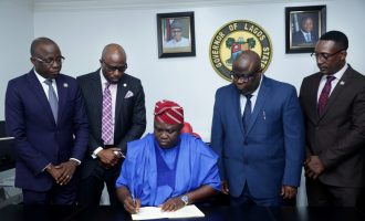 Ambode signs N1.046trn budget into law