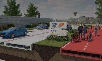 VIDEO: RIP to asphalt, welcome plastic roads