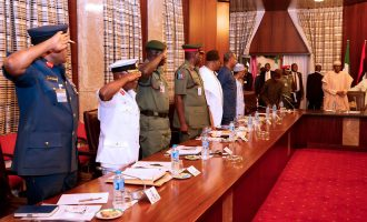Buhari asks security agencies to step up