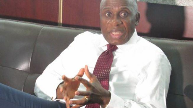 Amaechi 'not satisfied' with work on Lagos-Ibadan railway