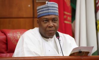 'I can't be in two places at the same time' — Saraki speaks on absence at APC NEC meeting