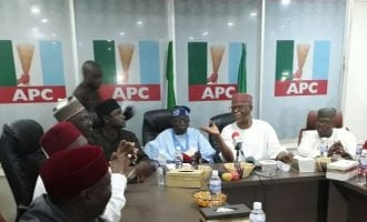 Tinubu meets Oyegun, APC leaders as reconciliation begins
