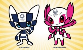 Japan unveils futuristic mascots for Tokyo 2020 Olympics