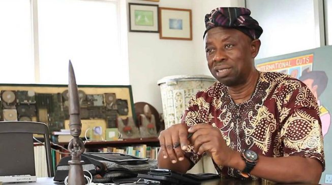 Tunde Kelani commits to SDGs, says 'Arugba' inspired by the UN