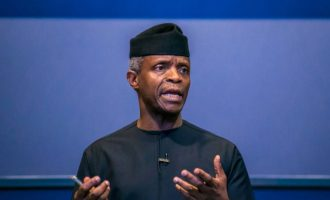 Osinbajo: We need to do things differently
