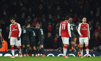 Again, spineless Arsenal succumb to Manchester City
