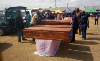 Ortom laments as Benue holds second mass burial in three months