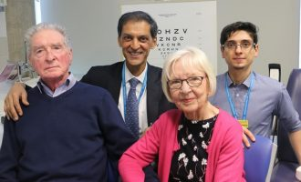 Blindness cure in sight as doctors help two patients read again