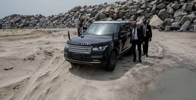 Buhari tours Eko Atlantic City