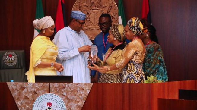 Fake or genuine? Presidency speaks on Buhari's 'Martin Luther King award'