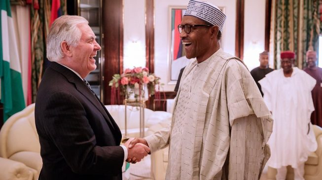 US Secretary of State meets with Nigerian Prez