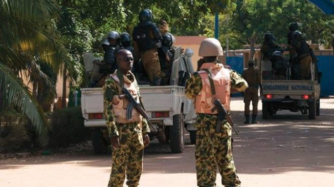 Army hqtrs, French embassy under heavy attack by terrorists — BURKINA FASO