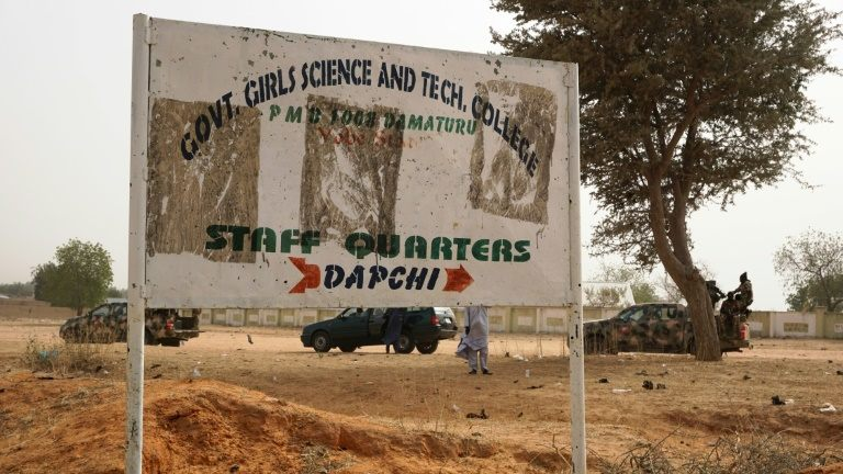 Dapchi girls airlifted to Maiduguri