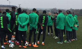 Mikel, Moses, Musa, Lokosa… Nigeria's provisional World Cup squad