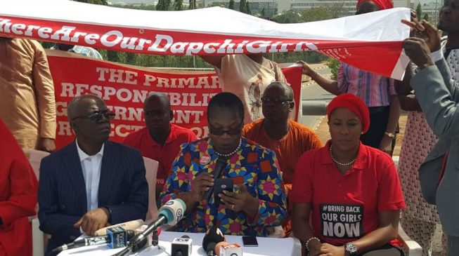 BBOG gives FG seven days to rescue Dapchi schoolgirls