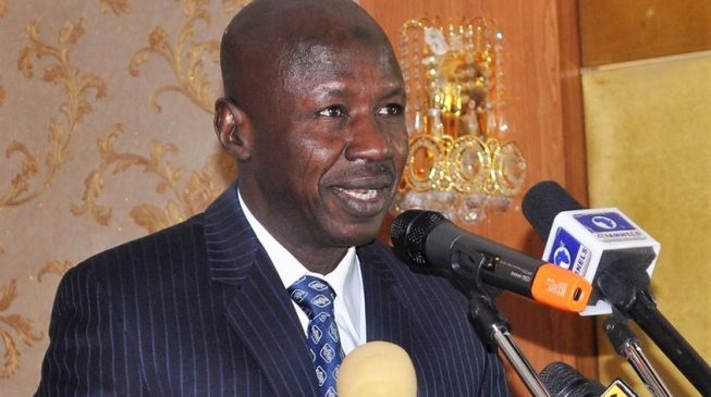EFCC Magu, 17 others get police promotion