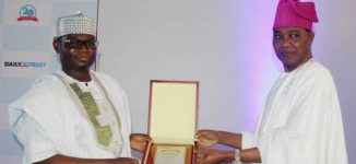 Ajibola, co-founder of Trust newspapers, receives award of excellence