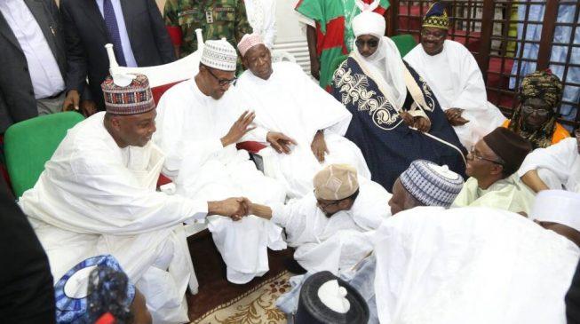 Buhari in Kano, Dapchi girls in Sambisa