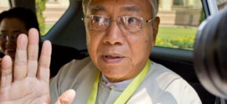 Myanmar's president resigns — 'to rest'