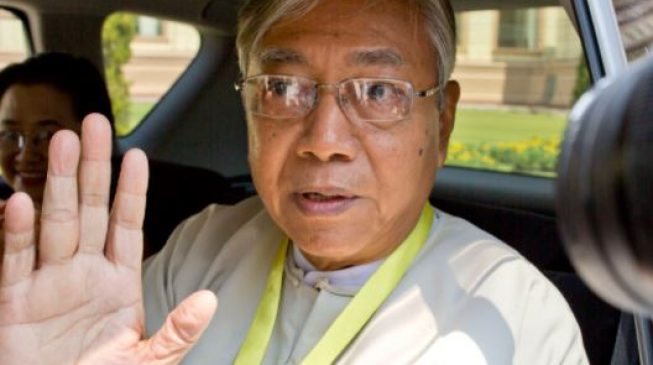 Myanmar President Htin Kyaw Steps Down Today