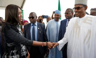A case of name-dropping? Controversial Naomi Campbell says Buhari invited her to Lagos