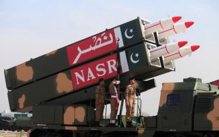 China, India, Pakistan — countries with nuclear weapons