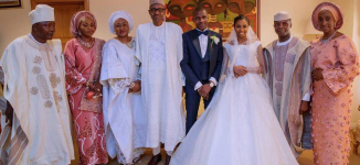 PHOTOS: Buhari, top pastors attend wedding of Osinbajo's daughter