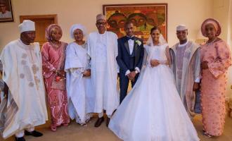 PHOTOS: Buhari, top pastors attend wedding of Osinbajo's daughter