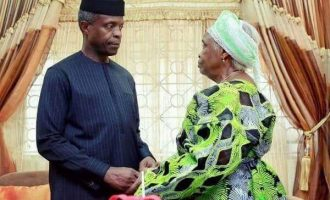 EXTRA: I still scold VP Osinbajo, says mother